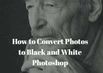 How to make an image black and white in Photoshop-Tips