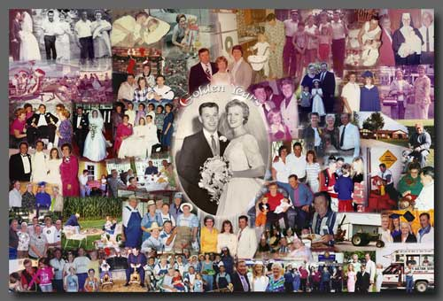 Photo Collage: Wedding Photo Collage