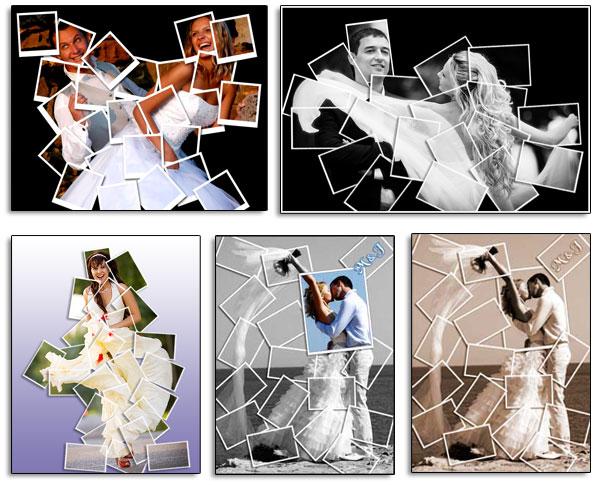 Photo Collage: Golden Years Wedding Anniversary Collage