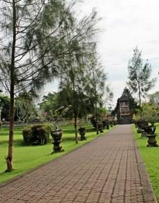 - The pathway, Pura Taman Ayun, Bali -
