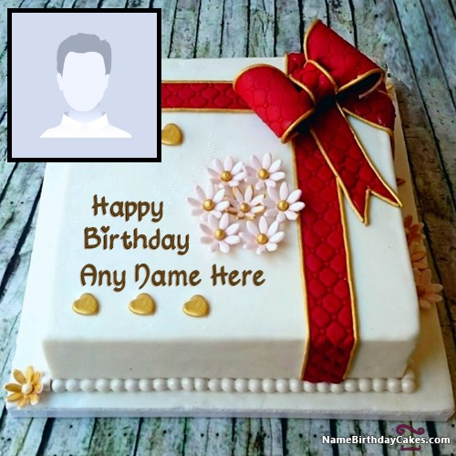 Get Free Editing Birthday Cake With Photo And Name