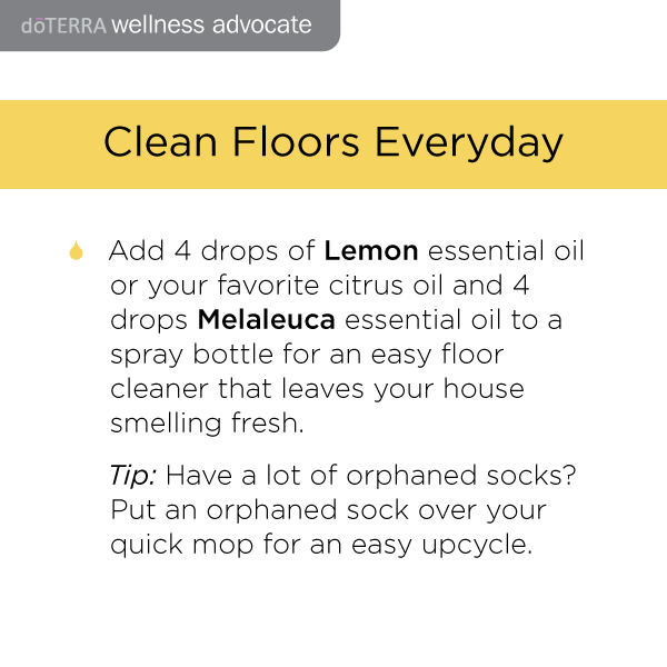 Doterra cleaning recipes
