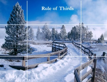 Dan Heller illustrates the photography Rule of Thirds.