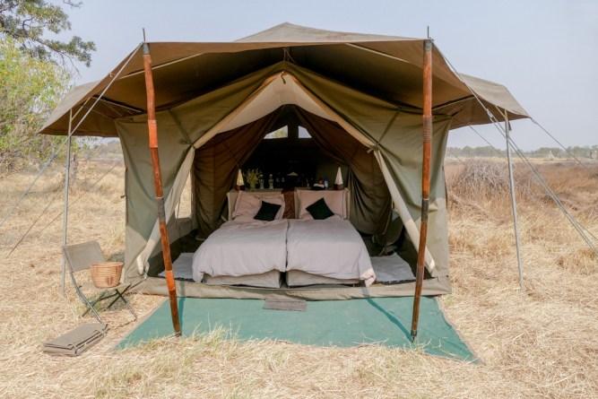 Mobile Tent Camp Views Botswana