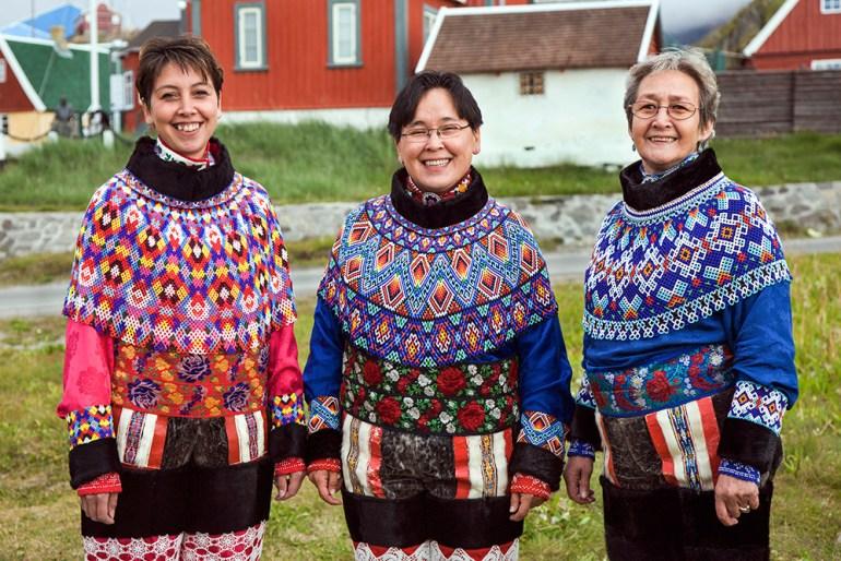 Three Greenlandic Women