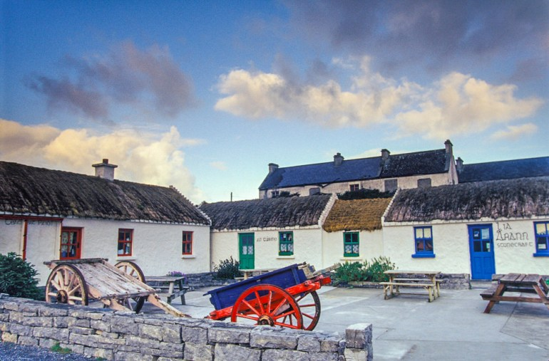 store on Inishmore Ireland
