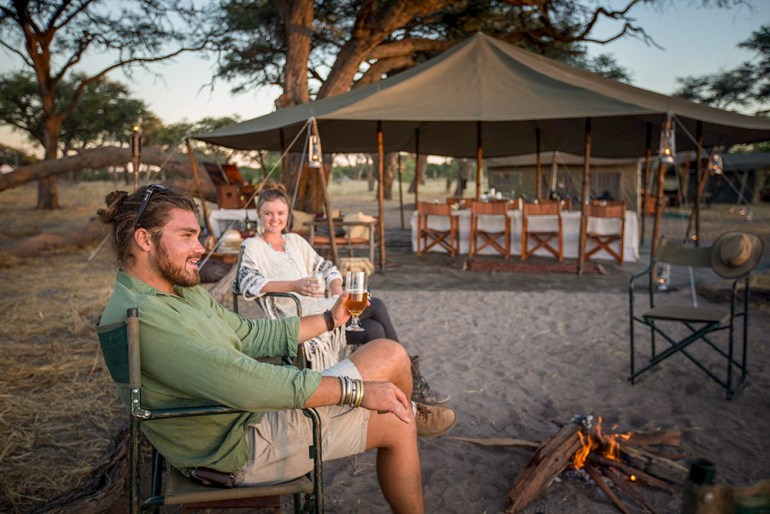 mobiel tented camp african safari