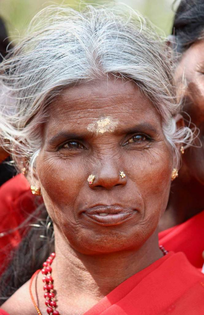 Hindu woman in India