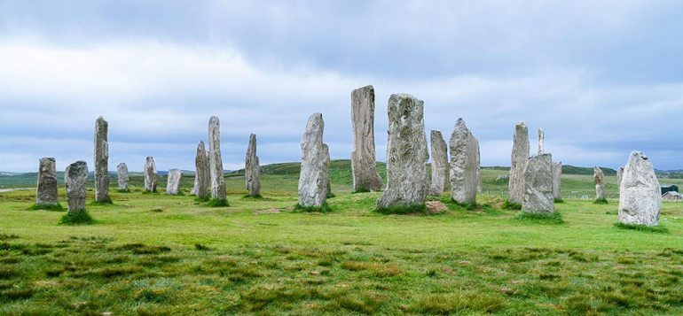 Callanish standing stones, Isle of Lewis Scotland