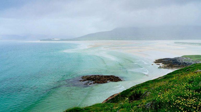 Luskentyre beach, Isle of Harris Scotland