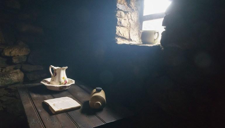 Blackhouse museum Scotland