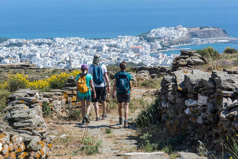Hike on Tinos, Greece