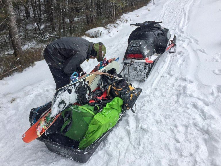 snowmobile ski norway