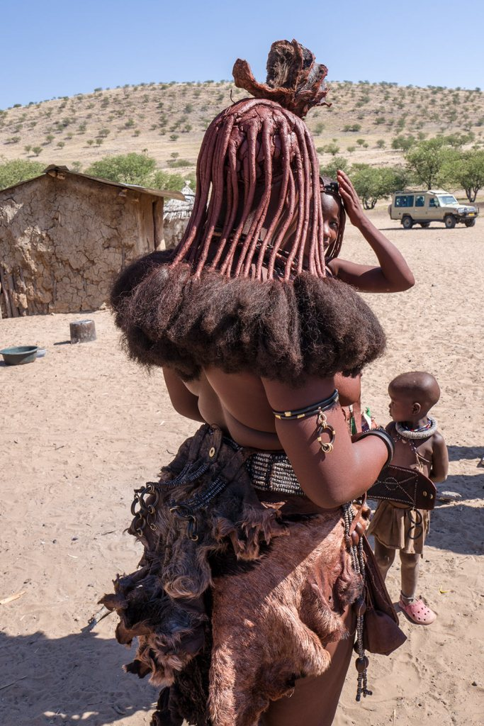 Himba women namibia