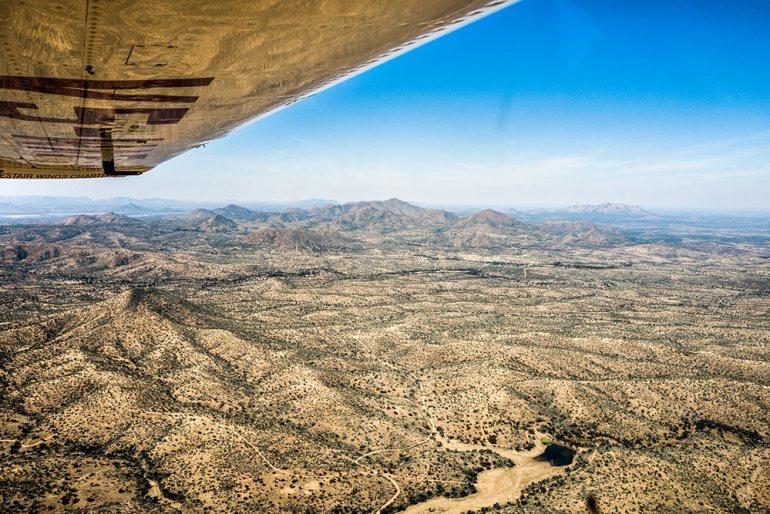 flight to Sossusvlei