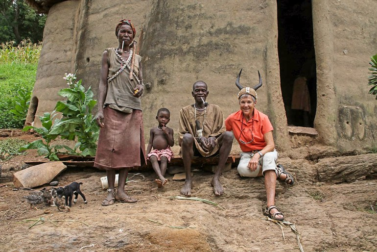 village in Tamberma, Togo