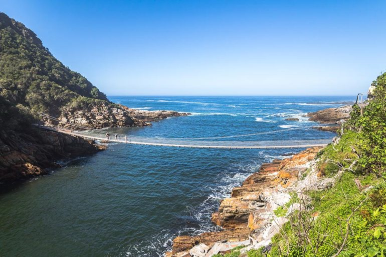 TsiTsikamma South Africa coastal hike