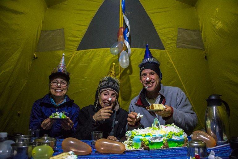 birthday in Cordillera Blanca