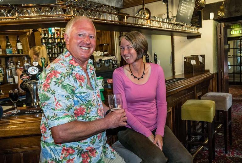 Richard and Karen Bell England