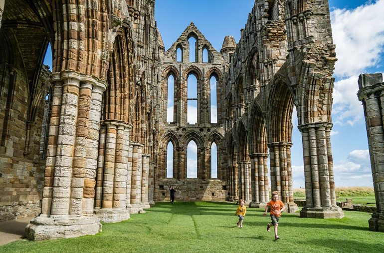 Whitby Abby in England