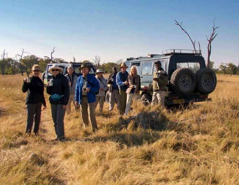 group safari in Botswana