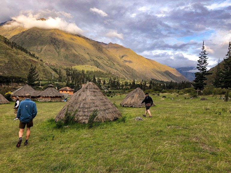 campsite on the Inca Trail