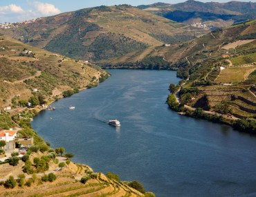 Douro river in portugal