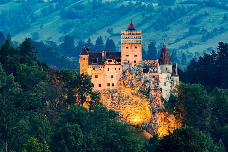 Bran Castle in Romania