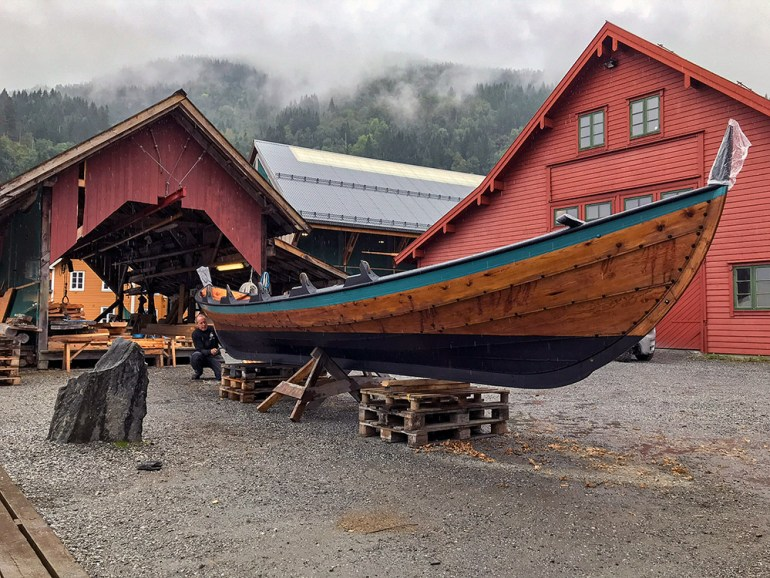 boat and viking museum in Norway