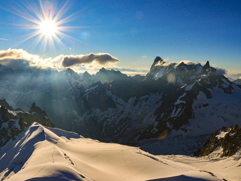 Aiguille du Midi Chamonix, France