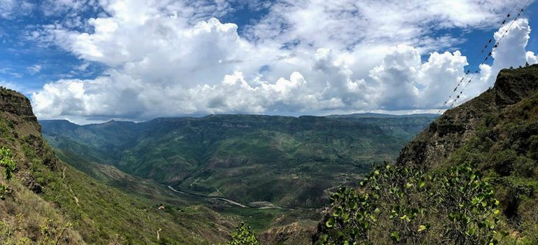 chicamocha canyon, colombia