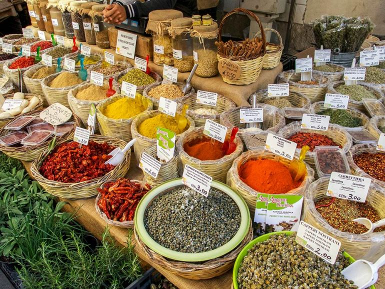 sicily food market