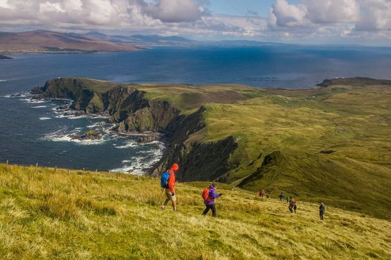 Ireland hiking
