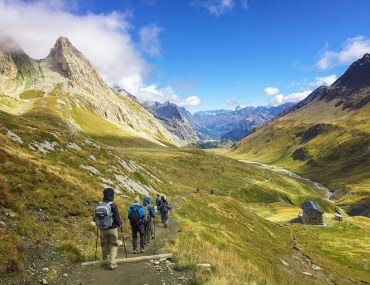 Tour du Mont Blanc hiking