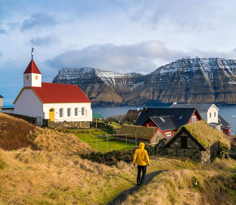 Faroe Islands hiking in europe