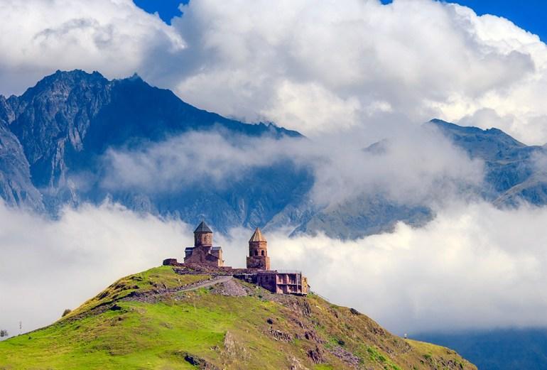 Georgia Caucasus hiking in europe