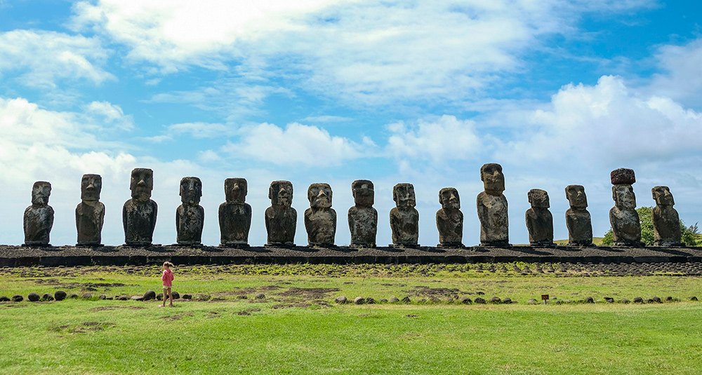 Image result for moai statues