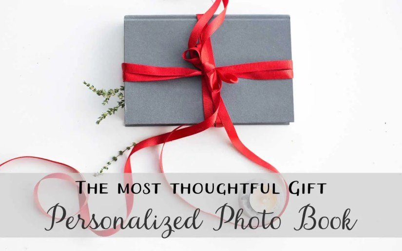 The most thoughtful gift is a personalized photo book