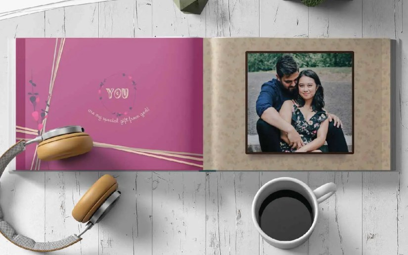 Hardcover Photobook with layflat binding option looks great
