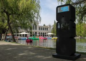 epics booth in parcul central