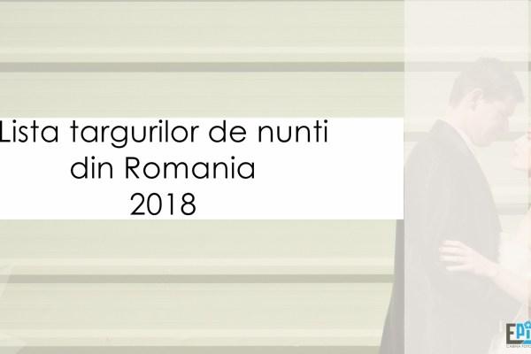 Târguri de nunți în România