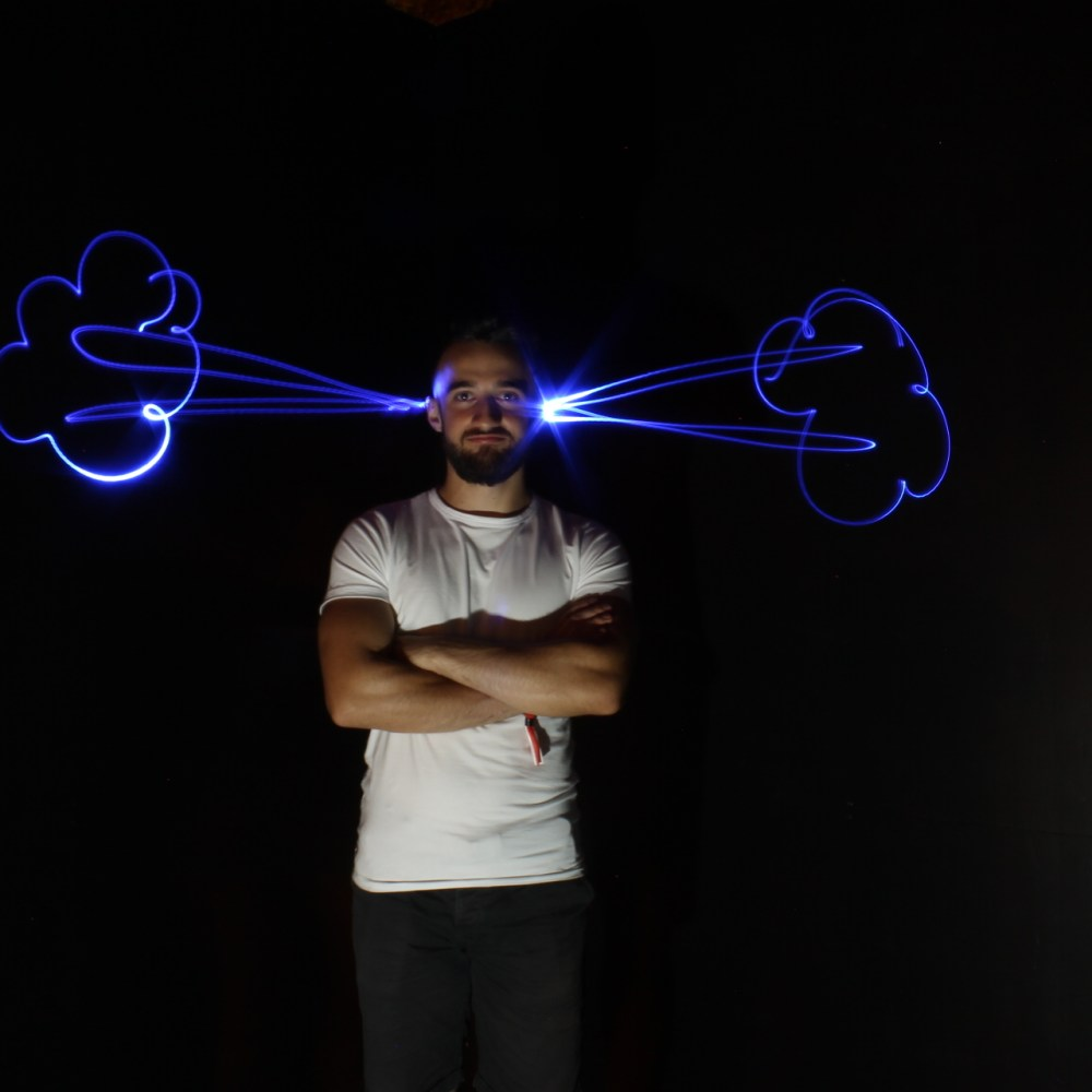 Light painting booth