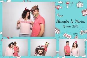 Protejat: 15 Iunie 2019 – Nunta Alexandra si Marius – Timisoara