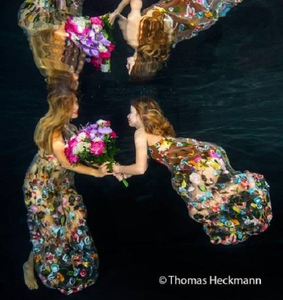 underwater photography model
