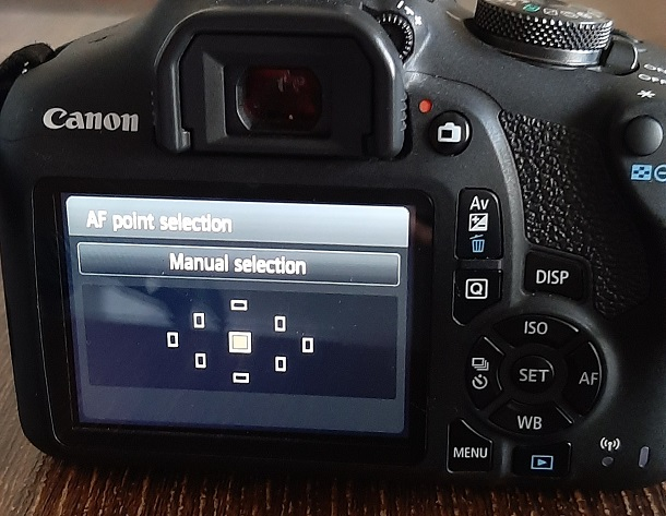 What are focus points on a camera