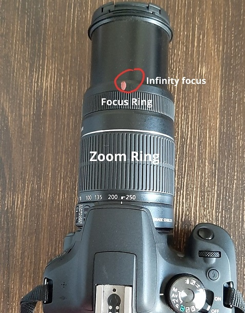 how to do manual focus with focus ring