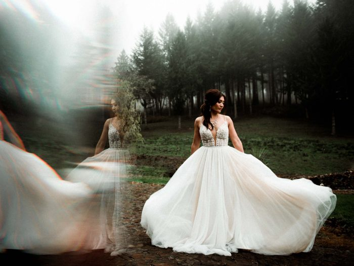 bridal portrait november 2020