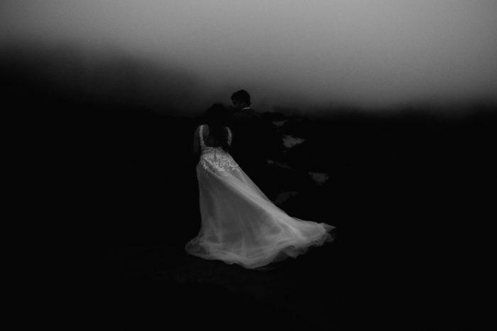 storm wedding veil pic