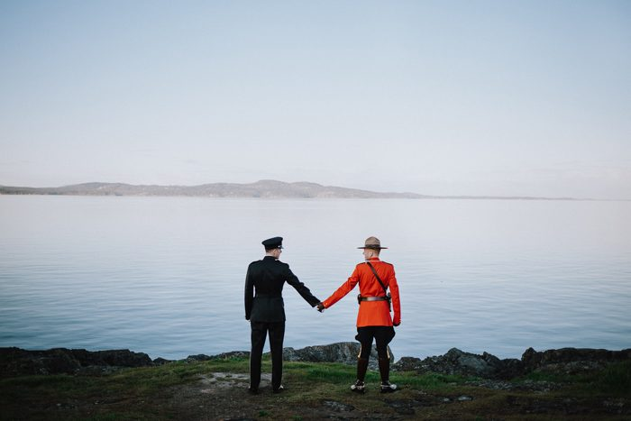 same sex men in uniform instagram profile