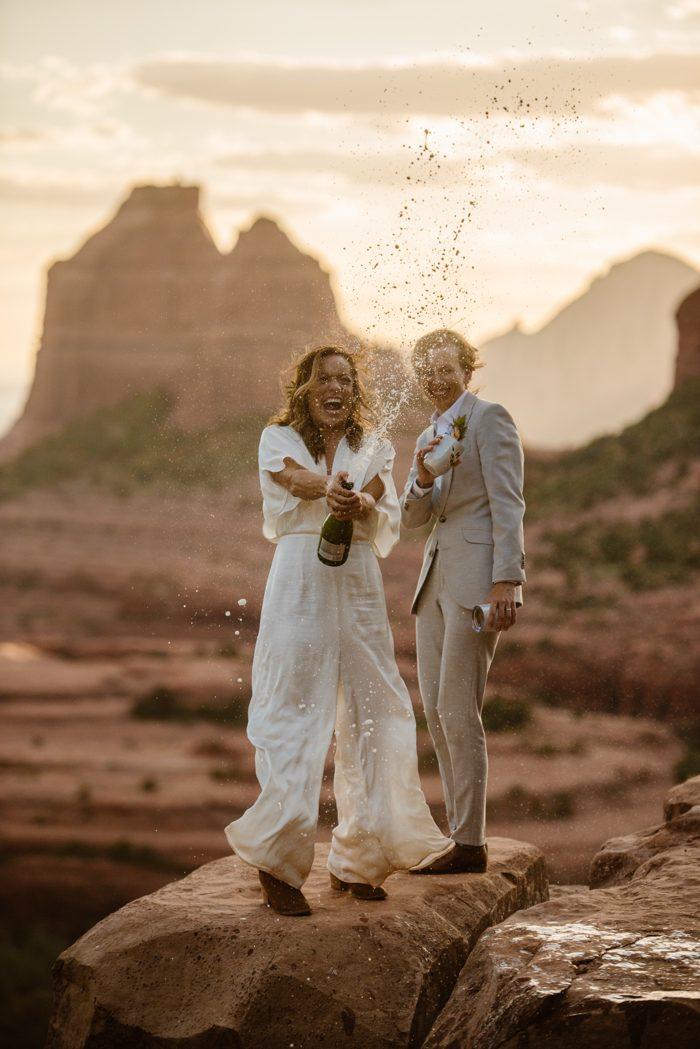 mountain champagne wedding instagram profile